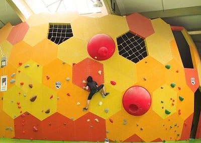 die Boulderhalle der BLOCKHELDEN Bamberg