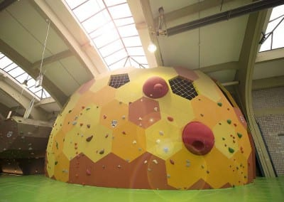 indoor bouldering gym