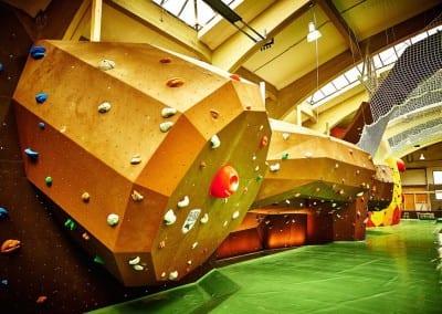 indoor bouldering gym