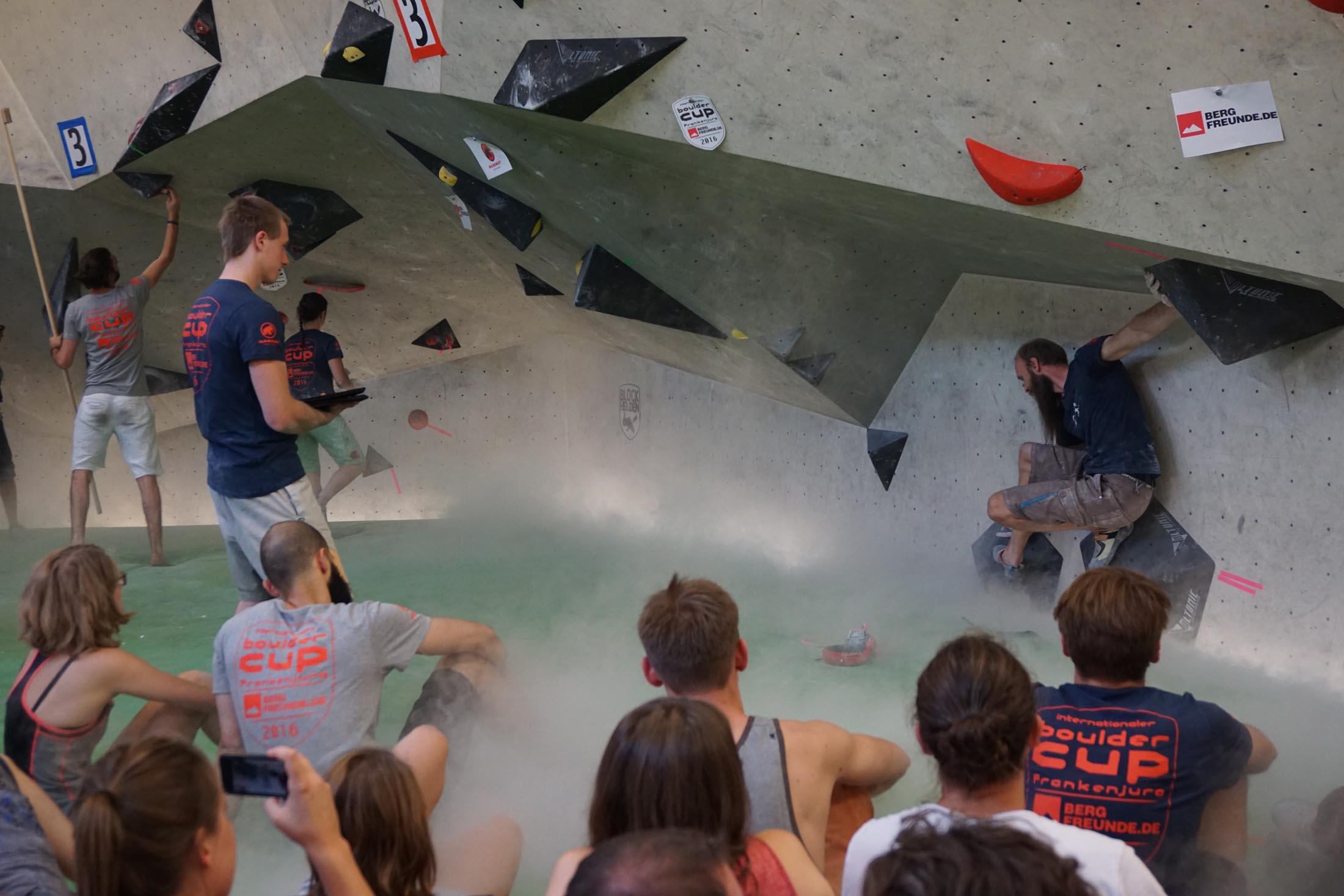 Finale, internationaler bouldercup Frankenjura 2016, BLOCKHELDEN Erlangen, Mammut, Bergfreunde.de, Boulderwettkampf07092016690