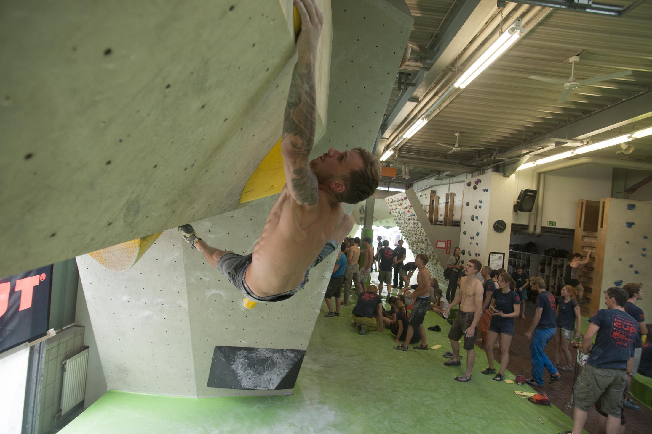 Quali, internationaler bouldercup Frankenjura 2016, BLOCKHELDEN Erlangen, Mammut, Bergfreunde.de, Boulderwettkampf07092016370
