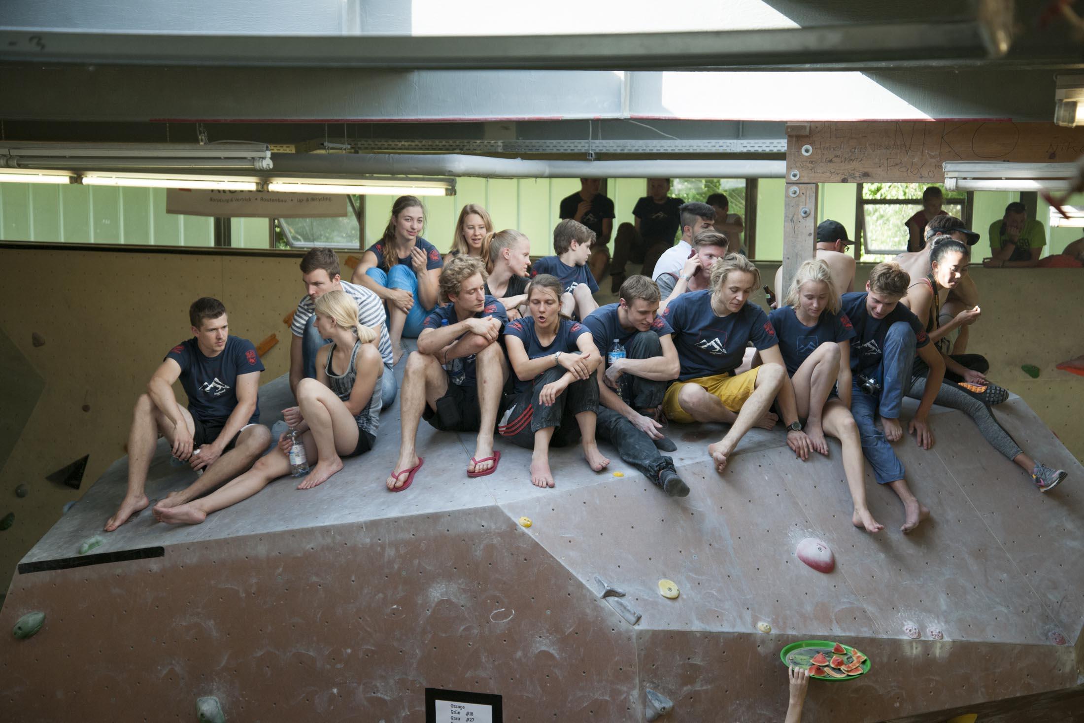 Quali, internationaler bouldercup Frankenjura 2016, BLOCKHELDEN Erlangen, Mammut, Bergfreunde.de, Boulderwettkampf07092016436