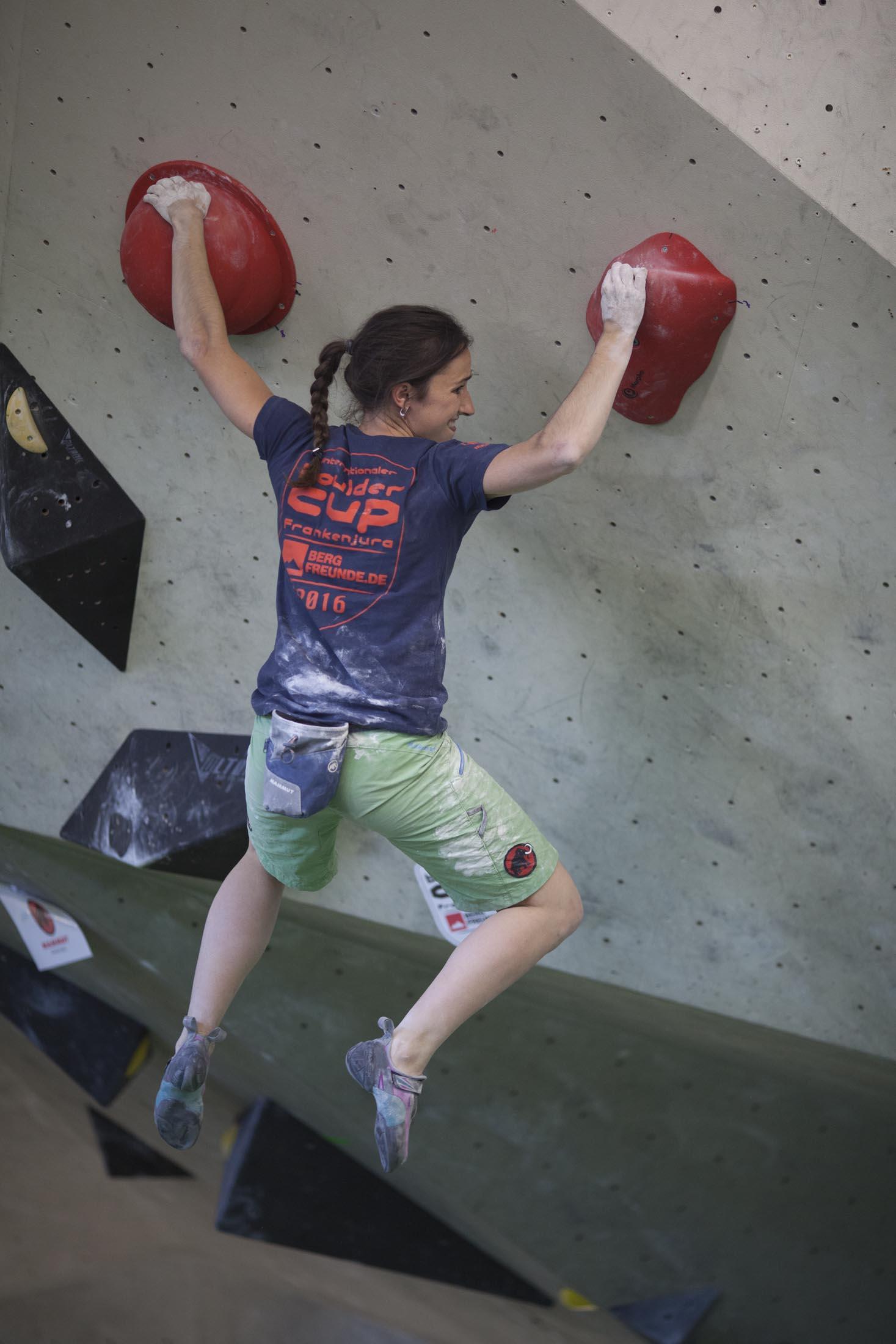 Juliane Wurm, internationaler bouldercup Frankenjura, BLOCKHELDEN Erlangen, Bergfreunde.de, Mammut07092016042