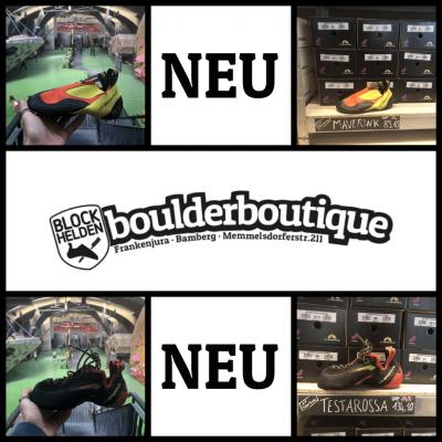 Neue Modelle in der boulderboutique!