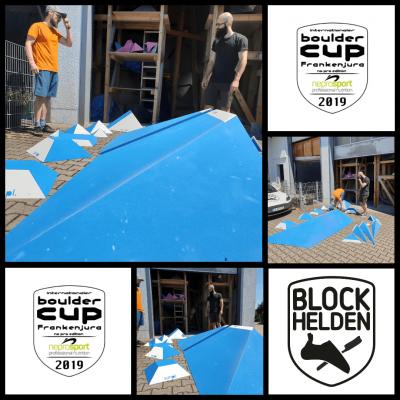 simpl volumes für den Bouldercup
