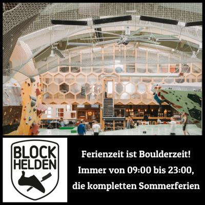 Ferienprogramm bei den BLOCKHELDEN