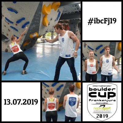 """ #ibcFj19 Wettkampfshirts """