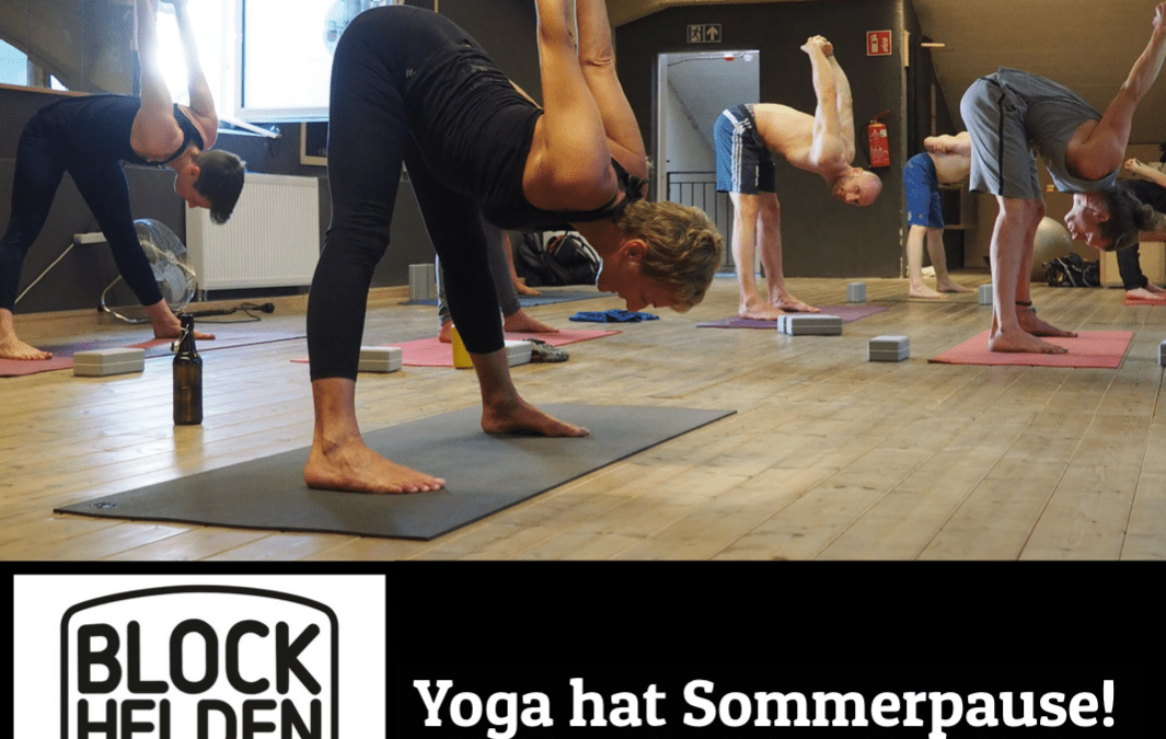 Yoga macht Pause!