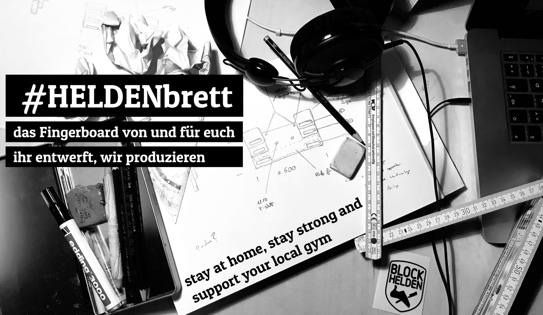 #HELDENbrett : Das Fingerboard von euch für euch. Ihr entwerft und wir produzieren