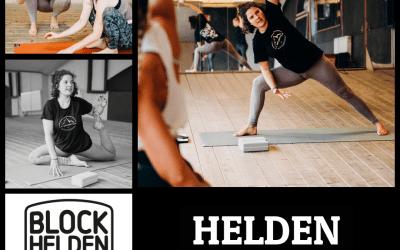 Yoga bei den BLOCKHELDEN!!!