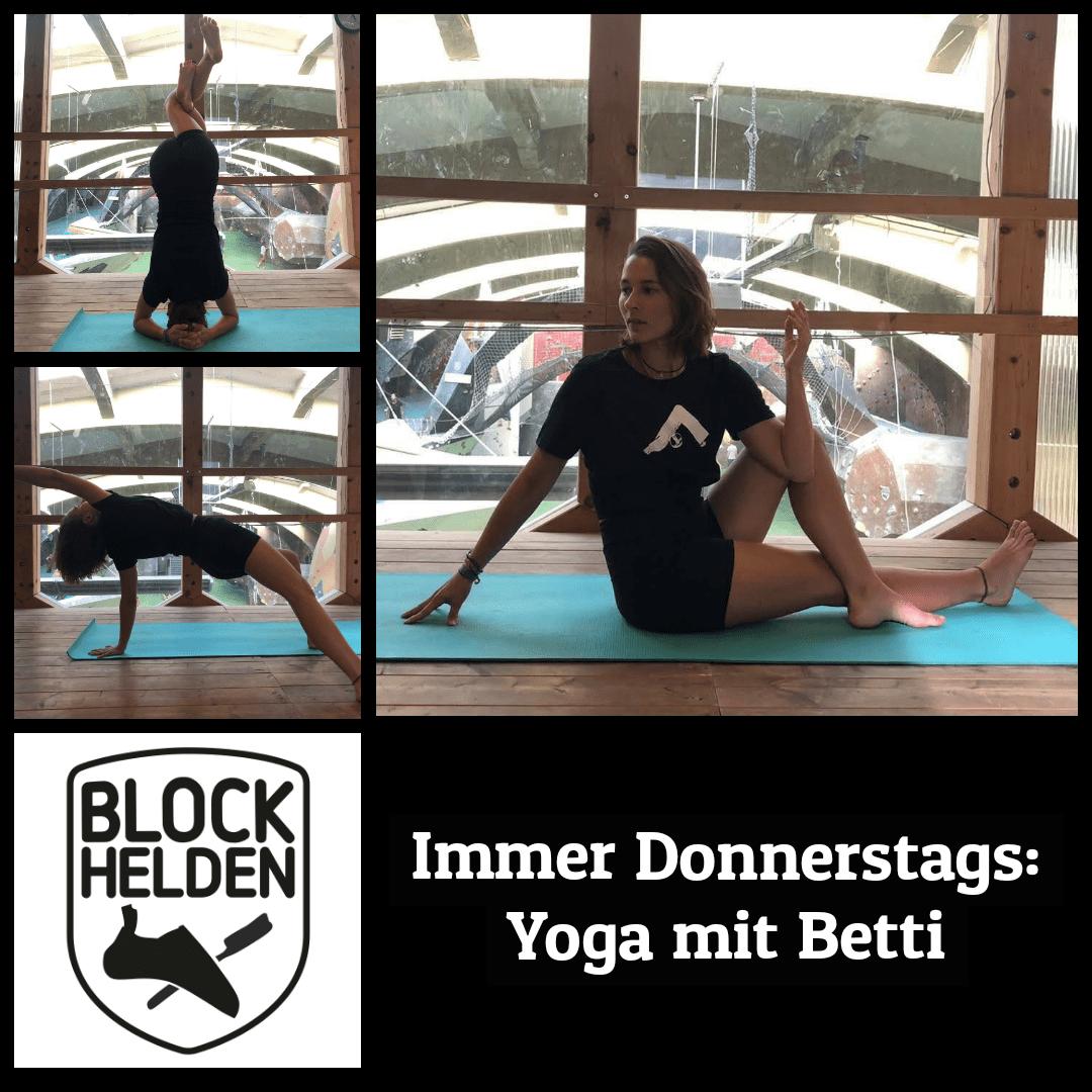 Yoga mit Betti