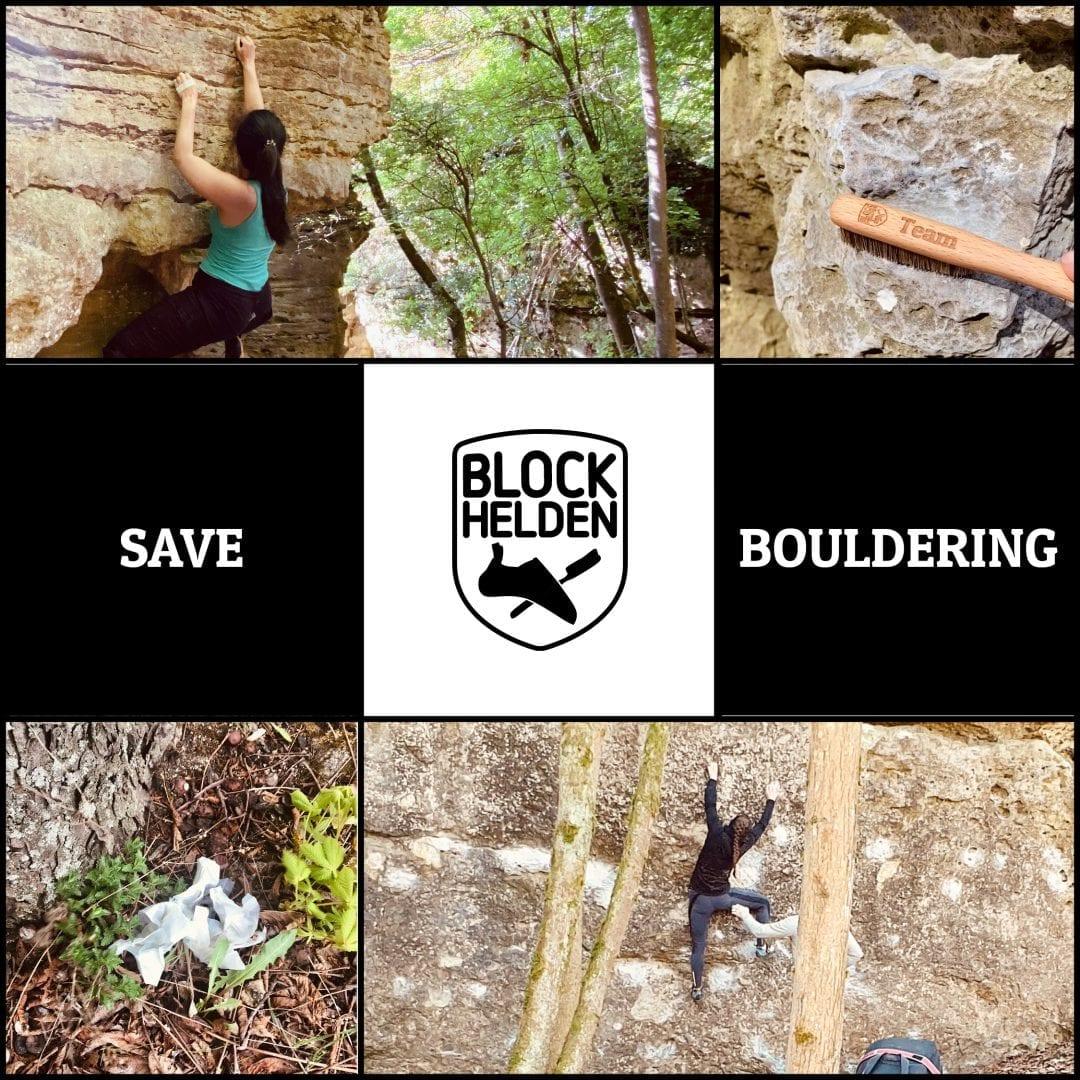 Draußen ist keine Boulderhalle!