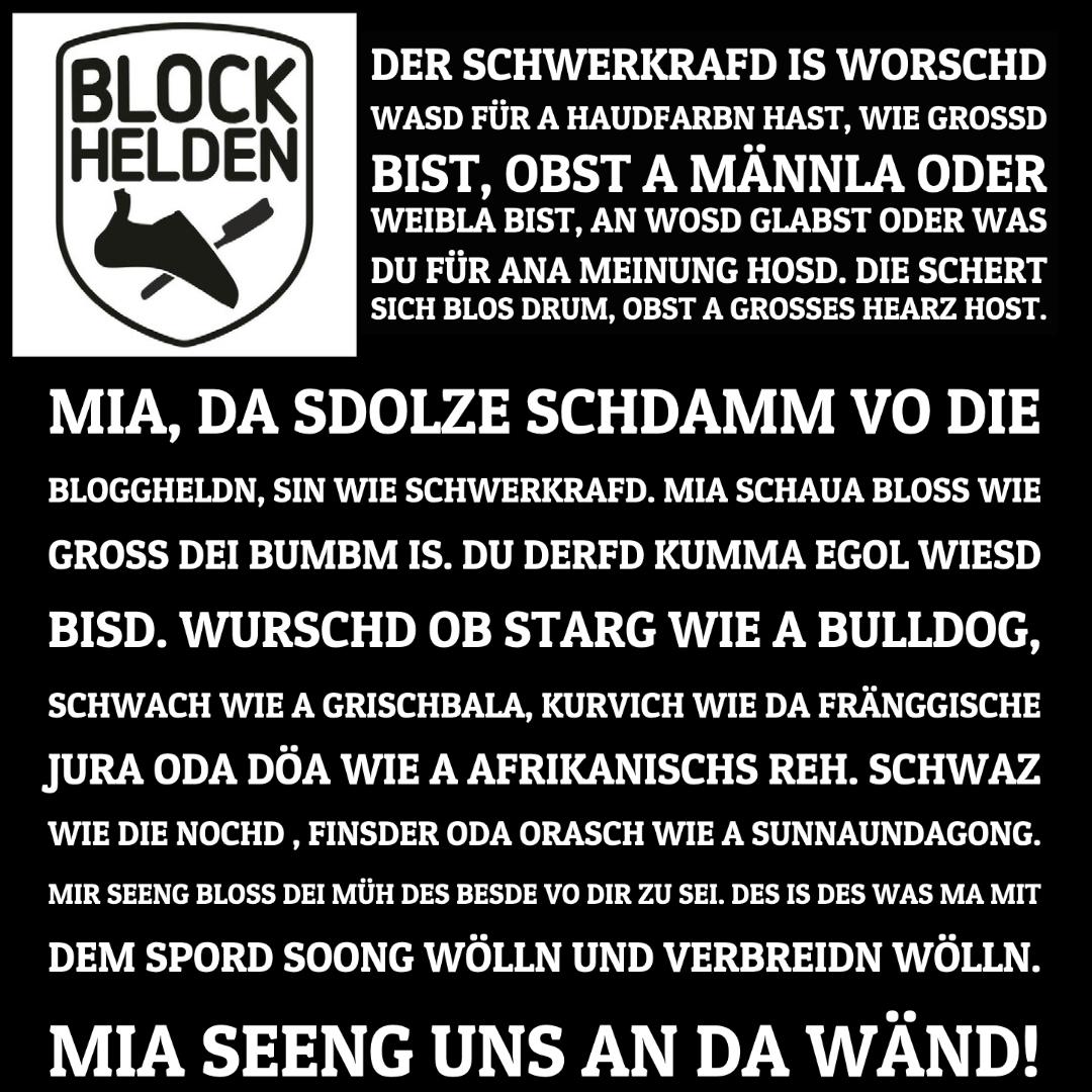 Stamm der BLOCKHELDEN 🖤